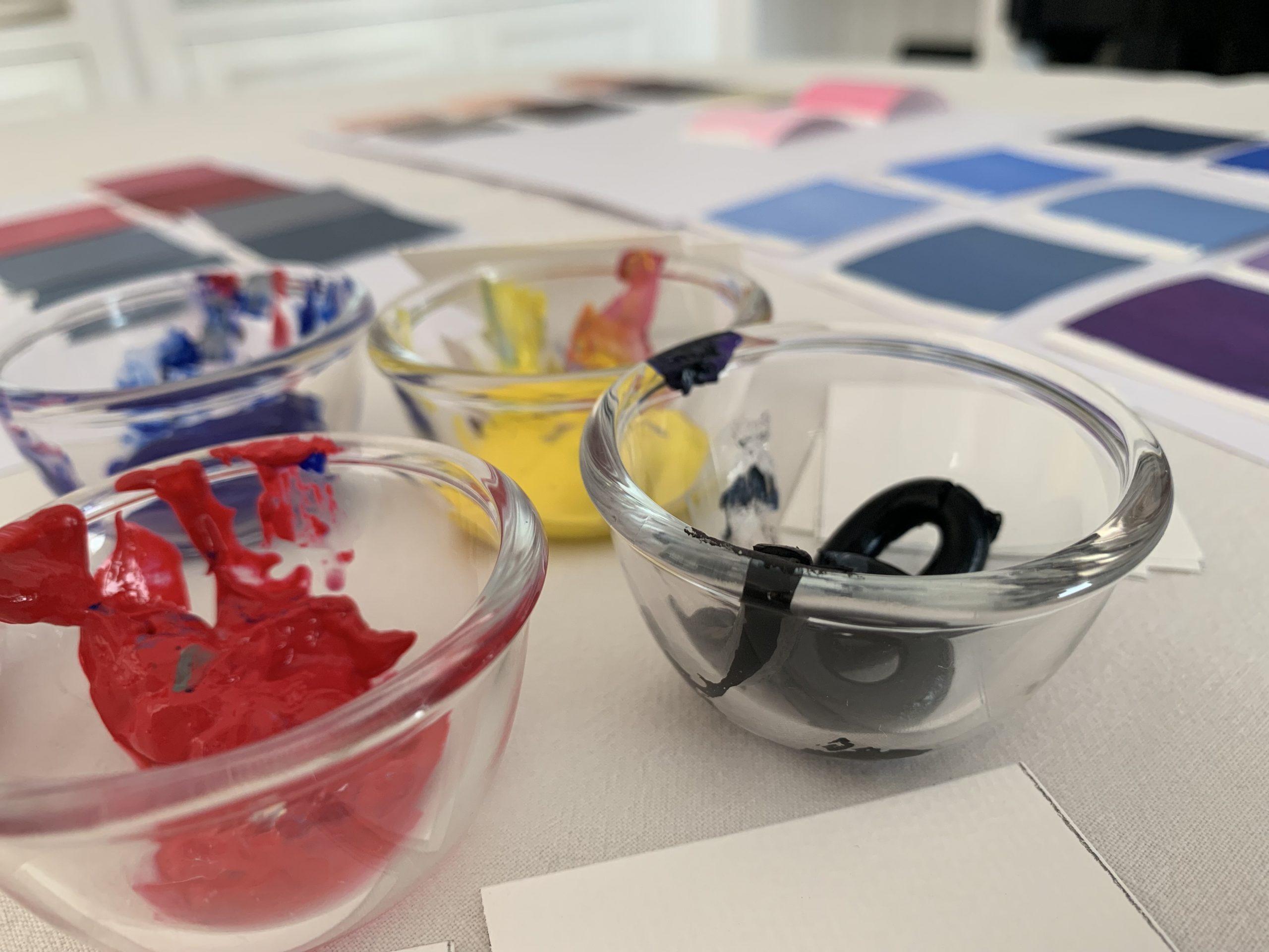 étude de colorimétrie